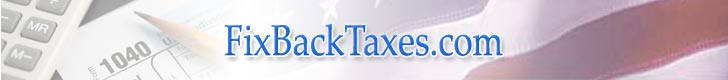 Back Taxes banner